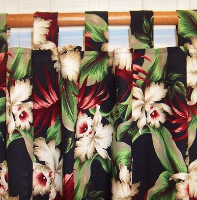 Tropical Curtains For Your Hawaiian Home The Hawaiian Home