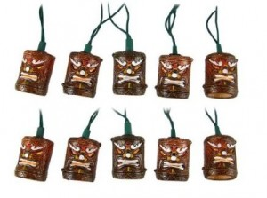tiki string lights