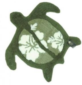 green honu rug