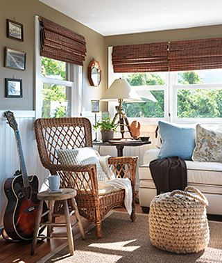 nautical beach cottage room