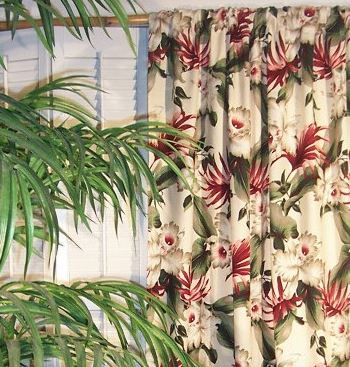 orchid curtains