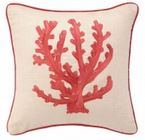 red coral pillows