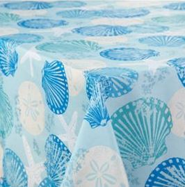 hawaiian tablecloth