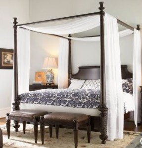 tommy bahama canopy bed