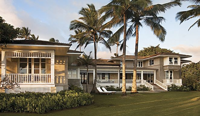 Plantation homes hawaii and home plans on pinterest for Hawaiian plantation architecture