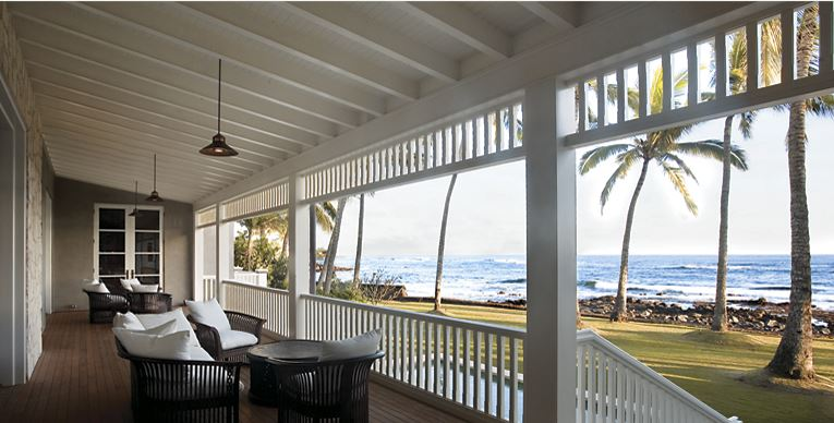 hawaiian home lanai