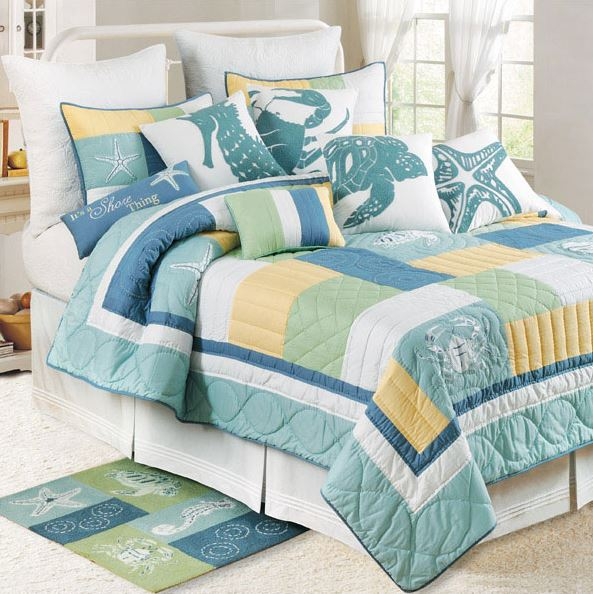 waters edge tropical bedding