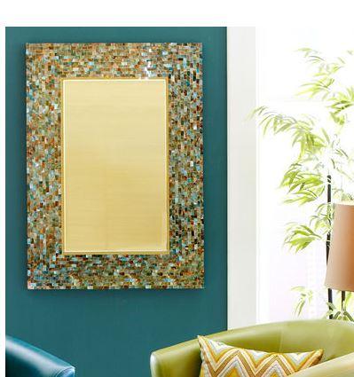 Beau Ocean Mosaic Mirrors