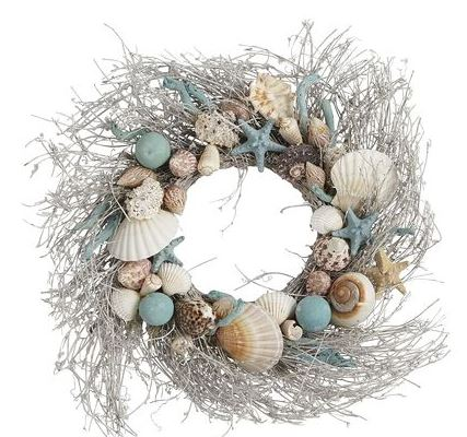 Christmas Beach Wreaths - The Hawaiian Home
