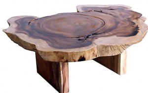 norca wood coffee table