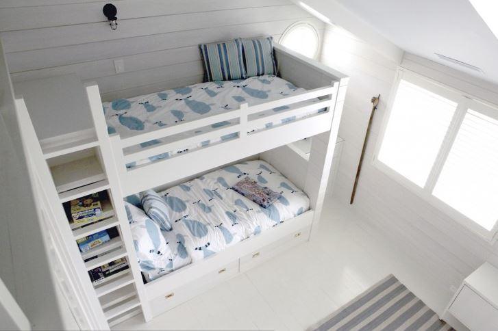 beach bunk bed