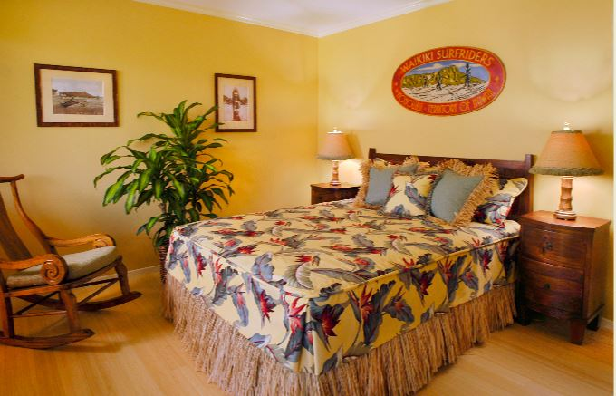 hawaiian bedroom design