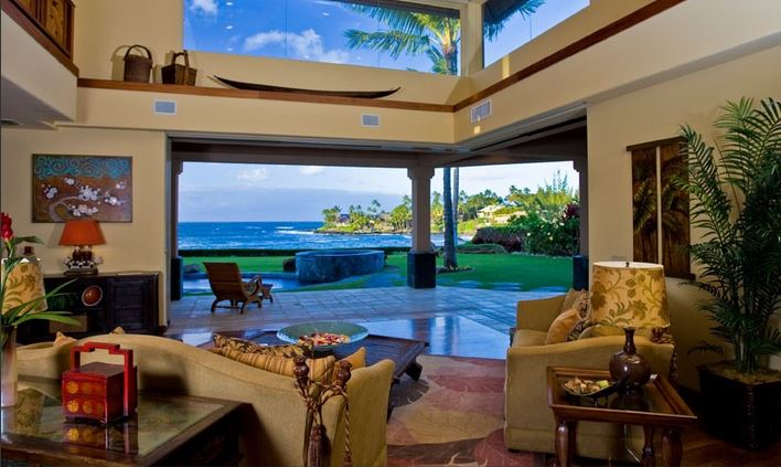 maui hawaiian home tour the hawaiian home. Black Bedroom Furniture Sets. Home Design Ideas
