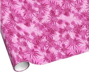 pineapple hawaiian wrapping paper