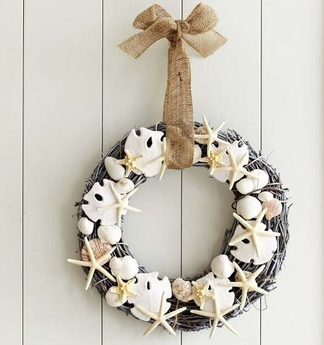 starfish wreath