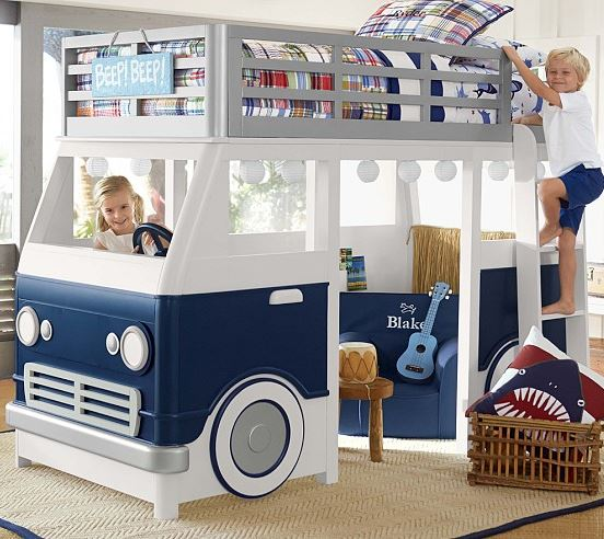 surf bunk bed