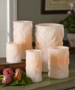 flameless tropical candles