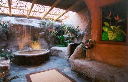 waterfall bathroom ideas