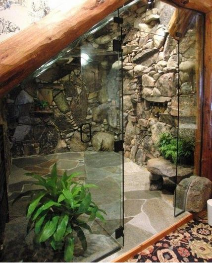 waterfall bathroom design