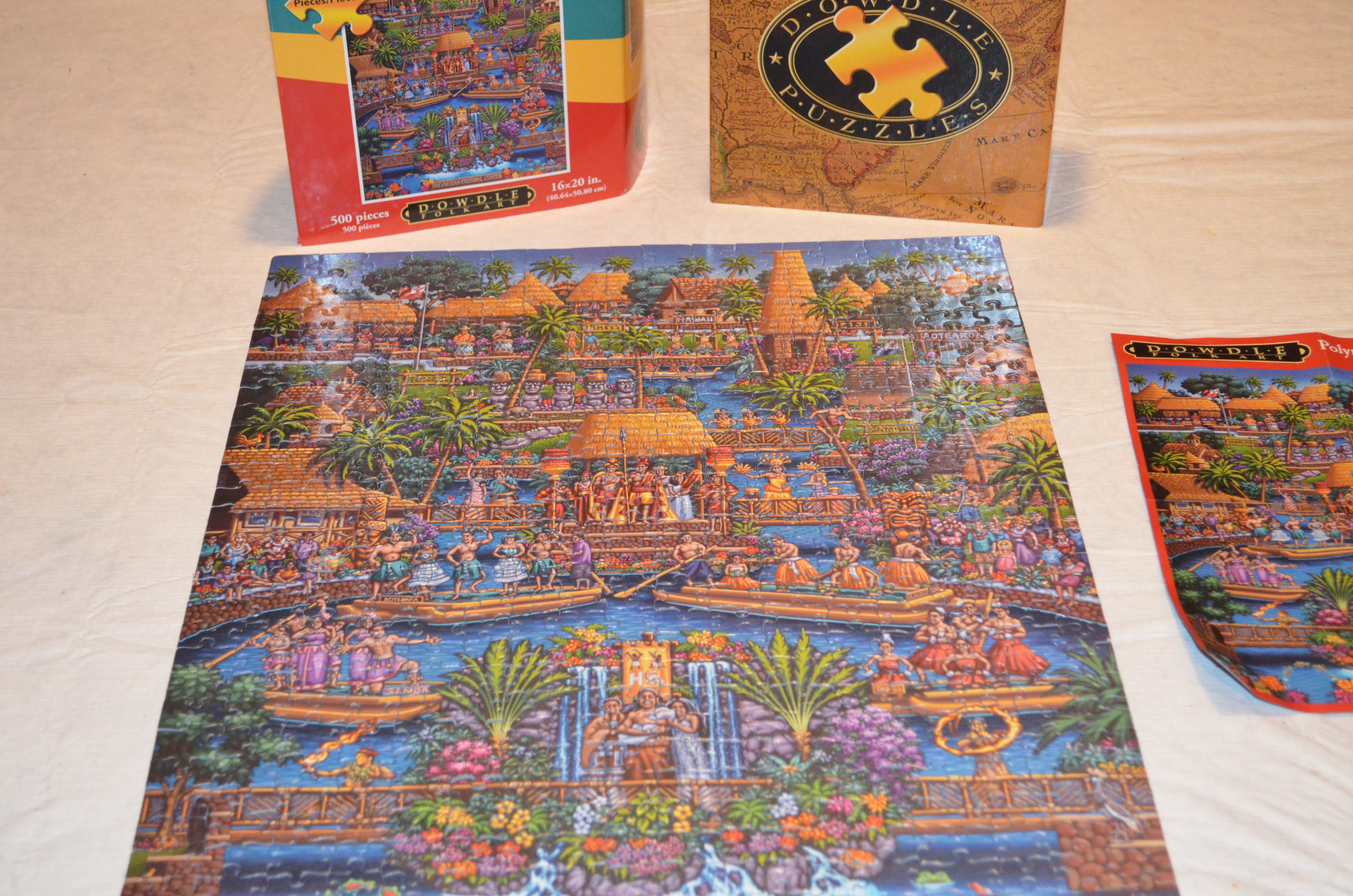 polynesian cultural center puzzle