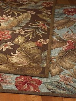atrium tropical rug