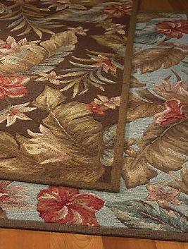 atrium tropical rug