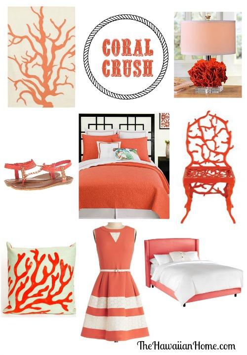 coral crush - coral furnishings