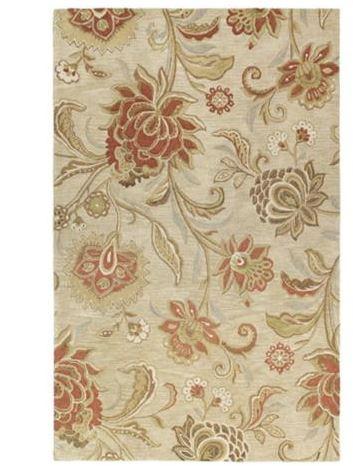 floral hawaiian style rug