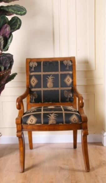palm tree armchair