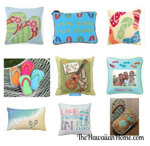 slippahs pillows