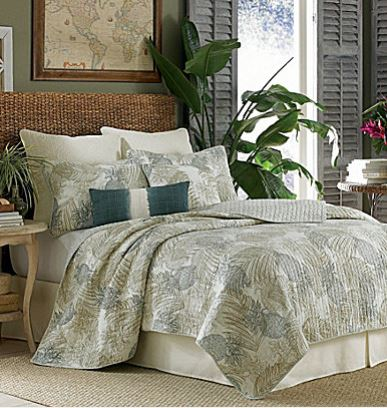 tommy bahama pineapple quilt