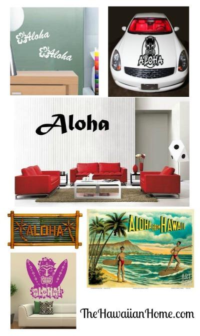 aloha home decor