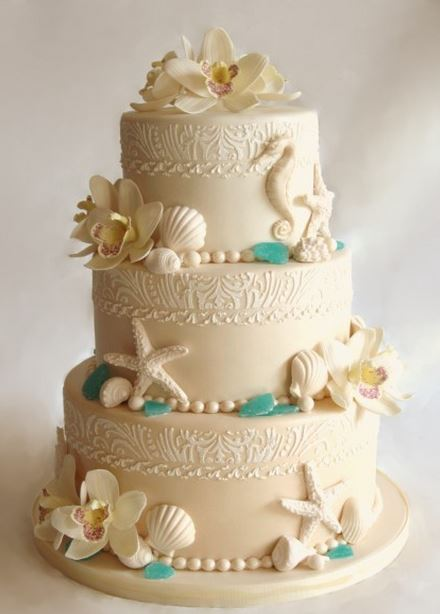 elegant beach themed wedding cakes 10 hawaiian style wedding cakes the hawaiian home 13956