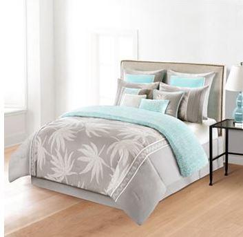 Brand-new Palm Tree Comforter On Sale - The Hawaiian Home ZW86