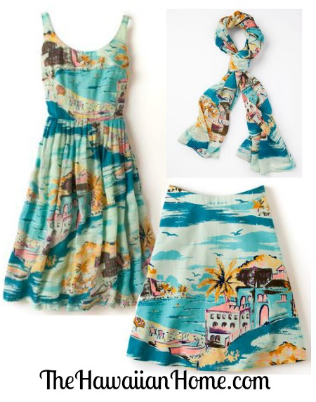 beach print clothes for women