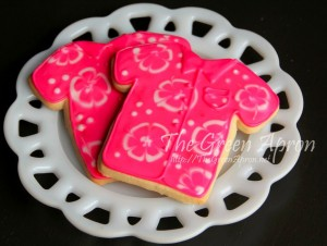 pink hawaiian cookies