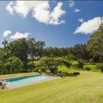 hawaii plantation home pool