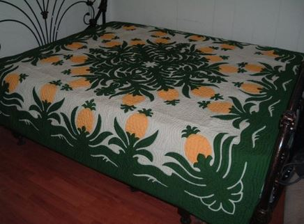 hawaiian pineapple quilt