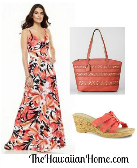jennifer lopez tropical floral maxi dress