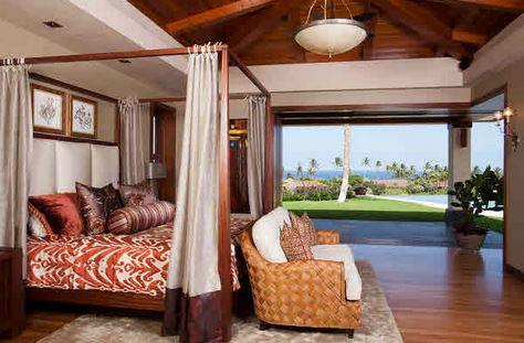 hawaiian canopy bed