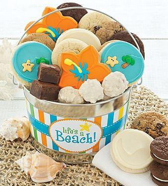 life's a beach cookies