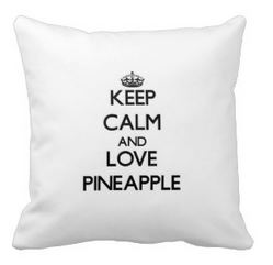 love pineapple pillows