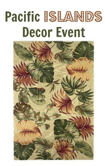 pacific islands decor event