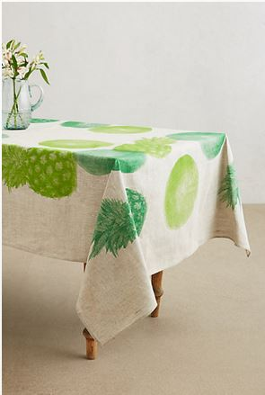 pineapple tablecloth
