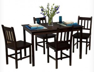 bamboo dining room set