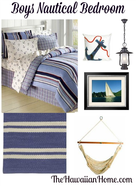 boys nautical bedroom