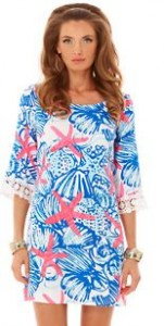 tropical tunic dress