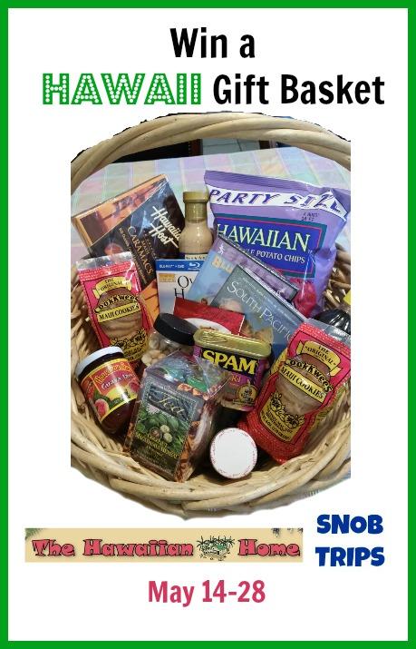 hawaii gift basket giveaway