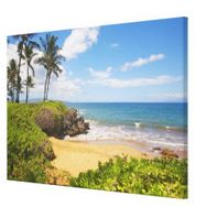 maui beach art canvas