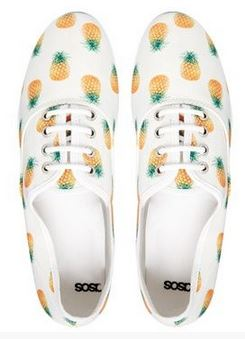 pineapple sneakers